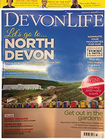 SYC article in Devon Life